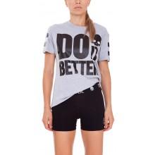 Tee-Shirt Hydrogen Femme Do it Better Gris
