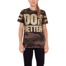 Tee-Shirt Hydrogen Femme Do It Better Kaki