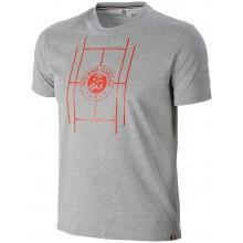Tee-Shirt Roland Garros Court Gris
