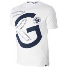 Tee-Shirt Roland Garros RG Blanc
