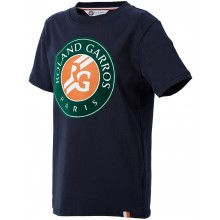 Tee-Shirt Junior Roland Garros Big Logo Marine
