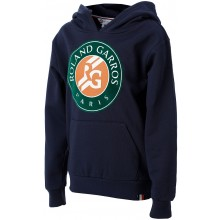 Sweat Junior Roland Garros Big Logo Marine