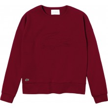Sweat Lacoste Femme Training Framboise