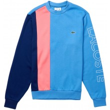 Sweat Lacoste Good Colorblock Bleu