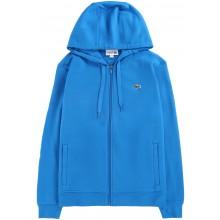 Sweat à Capuche Lacoste Lifestyle Zippé Bleu