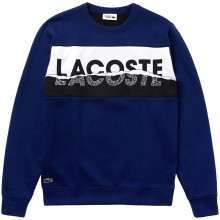 Sweat Lacoste Bleu