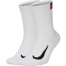 2 Paires de Chaussettes Nike Cushion Crew Blanches