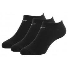 3 Paires de chaussettes Nike No Show Extra Basses Noires
