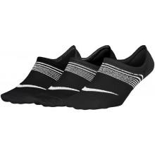 3 Paires de Chaussettes Nike Femme Lightweight Extra Basses Noires