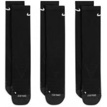 3 Paires De Chaussettes Nike Dry Cushion Noires