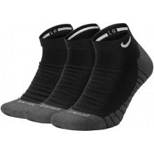 3 Paires de Chaussettes Nike Max Cushion Invisible Noires