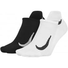 2 Paires De Chaussettes Nike No Show Blanches