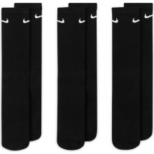 3 Paires De Chaussettes Nike Cushion Everyday Mi-Hautes Noires