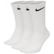 3 Paires de Chaussettes Nike Everyday Mi-Hautes Blanches
