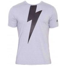 Tee-Shirt Hydrogen Thunderbolt Tech Gris