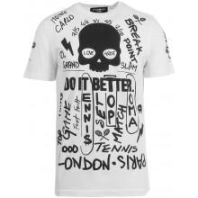 Tee-Shirt Hydrogen Graffiti Blanc