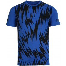 Tee-Shirt Hydrogen Scratch Tech Bleu