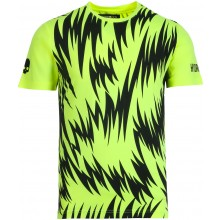 Tee-Shirt Hydrogen Scratch Tech Fluo