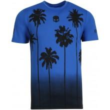 Tee-Shirt Hydrogen Palms Tech Bleu