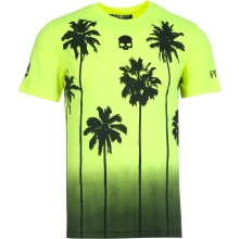 Tee-Shirt Hydrogen Palms Tech Fluo