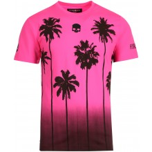 Tee-Shirt Hydrogen Palms Tech Fushia