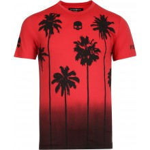 Tee-Shirt Hydrogen Palms Tech Rouge