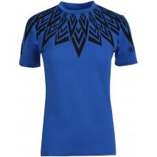 Tee-Shirt Hydrogen Femme Tech Bleu