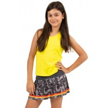 Débardeur Lucky In Love Junior Col V Cutout Jaune