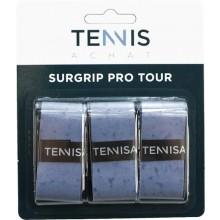 Surgrip Tennis Achat Pro Tour Bleu x3