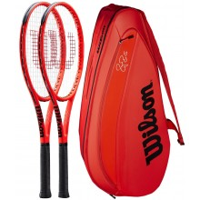 PACK WILSON FEDERER LAVER CUP 2 RAQUETTES + 1 SAC = -10%
