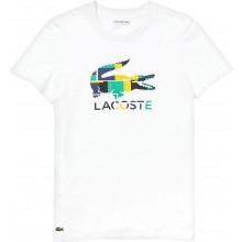 Tee-Shirt Lacoste Femme Tennis Lifestyle Blanc