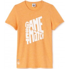 Tee-Shirt Lacoste Femme Tennis Orange