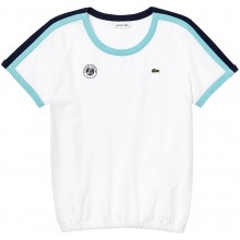 Tee-Shirt Lacoste Femme Blanc