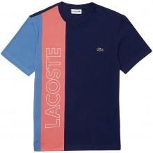Tee-Shirt Lacoste Good Colorblock Bleu