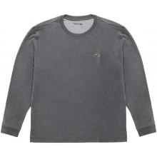 Tee-Shirt à Manches Longues Lacoste Lifestyle Gris