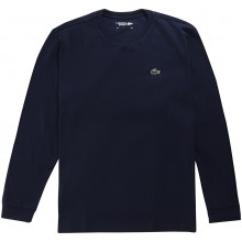 Tee-Shirt à Manches Longues Lacoste Lifestyle Marine