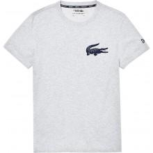 Tee-Shirt Lacoste Novak Djokovic Gris
