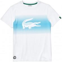 Tee-Shirt Lacoste Blanc