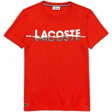 Tee-Shirt Lacoste Rouge