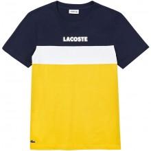 Tee-Shirt Lacoste Lifestyle Jaune