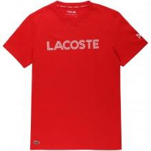 Tee-Shirt Lacoste Djokovic Off Court Rouge