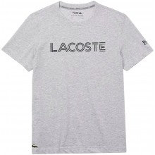 Tee-Shirt Lacoste Djokovic Off Court Gris