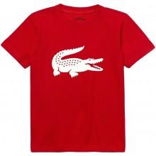 Tee-Shirt Lacoste Junior Rouge
