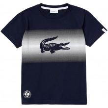 Tee-Shirt Lacoste Junior Marine