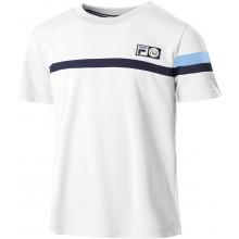 Tee-Shirt Fila Junior Garçon Roman Blanc