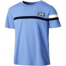 Tee-Shirt Fila Junior Garçon Roman Bleu