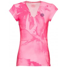 Tee-Shirt Bidi Badu Col V Bella Tech 2.0 Rose
