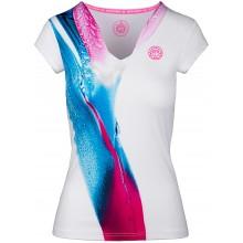 Tee-Shirt Bidi Badu Femme Bella 2.0 Tech Blanc