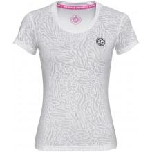 Tee-Shirt Bidi Badu Femme Anni Burnout Blanc