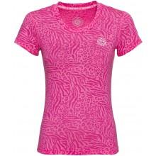 Tee-Shirt Bidi Badu Femme Anni Burnout Rose
